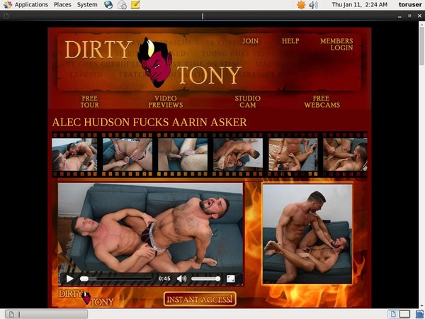 1 Dirty Tony With IBAN