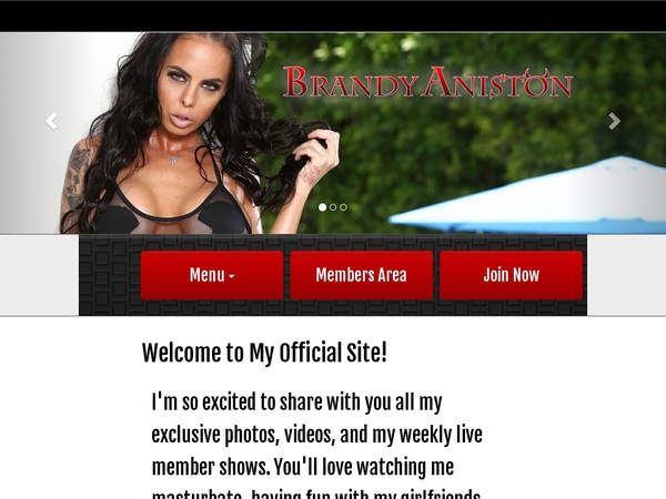 Brandy Aniston Limited Offer