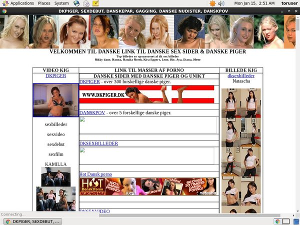 Danish Strippers Signup Form