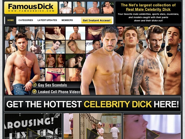 Famous Dick Promos