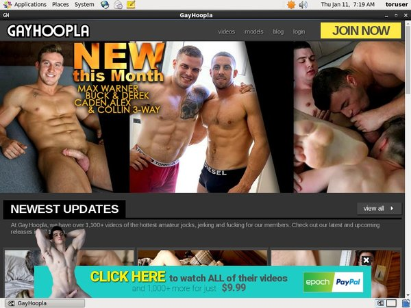 Join Gayhoopla.com With Paypal