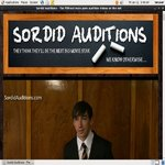 New Sordid Auditions V2 Passwords
