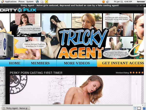 Trickyagent Join Anonymously