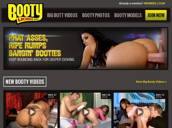 Free Working Bootyliciousmag Accounts