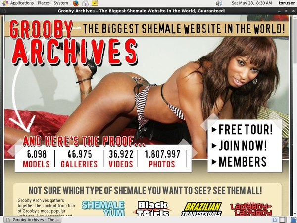 The Grooby Archives Discreet