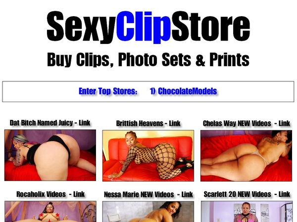 Special Sexy Clip Store Discount